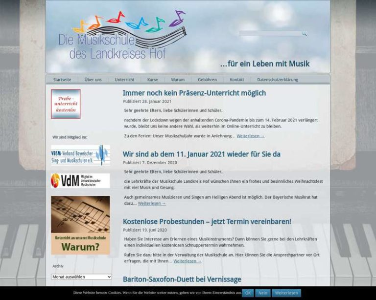 Screenshot (middle) http://www.ms-hof.de