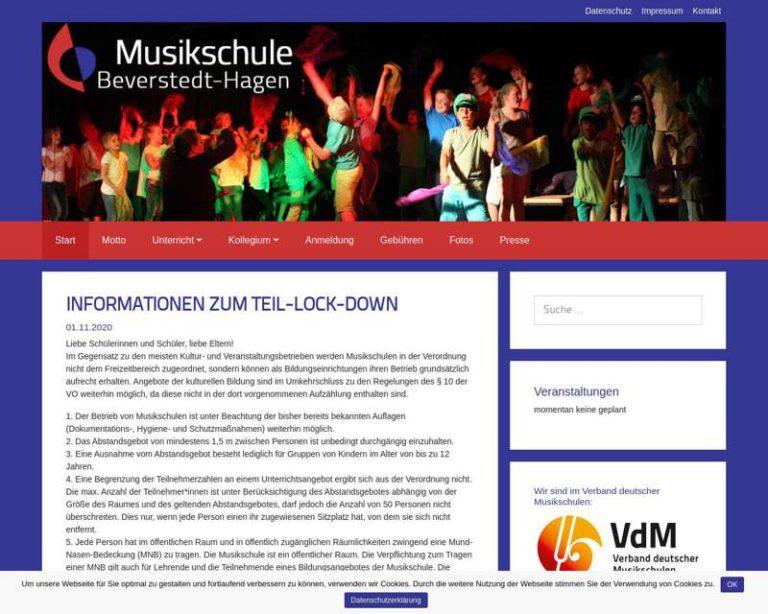 Screenshot (middle) http://www.musikschule-beverstedt-hagen.de