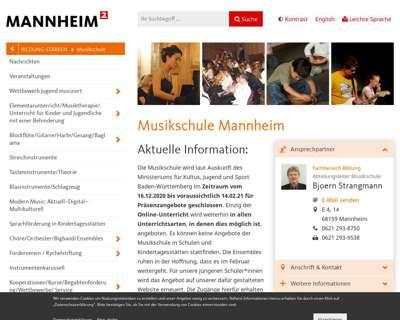 Screenshot (small) http://www.mannheim.de/musikschule