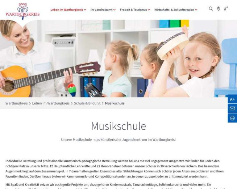 Screenshot (middle) http://www.musikschule-wak.de