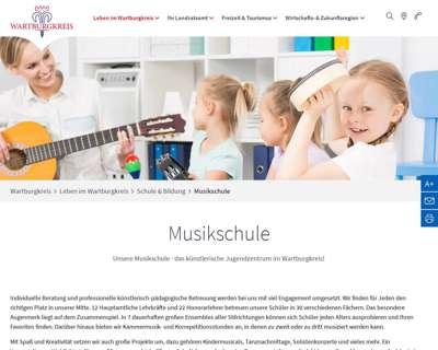 Screenshot (small) http://www.musikschule-wak.de