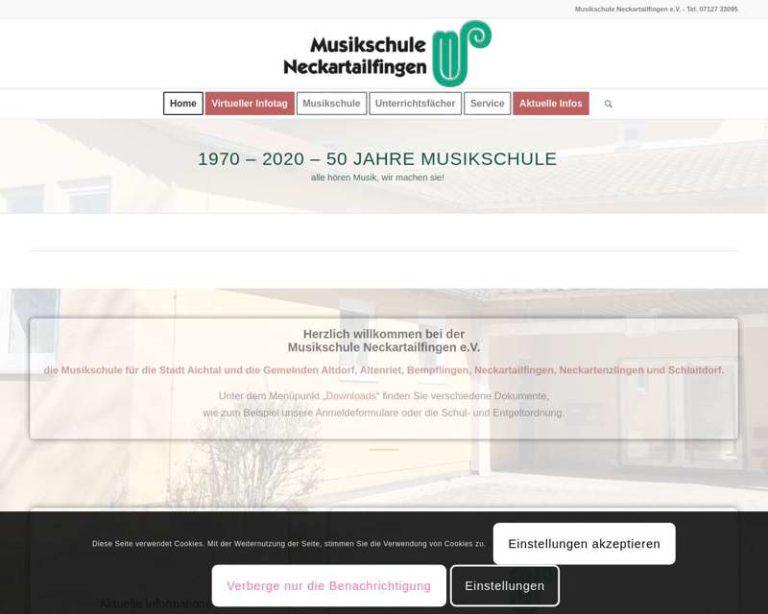 Screenshot (middle) http://www.musikschule-neckartailfingen.de