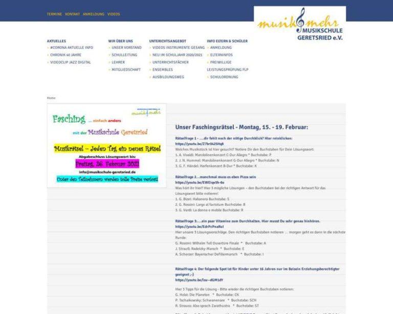 Screenshot (middle) http://www.musikschule-geretsried.de