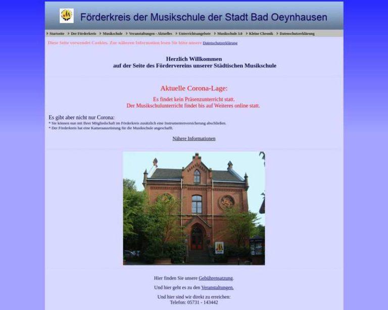 Screenshot (middle) http://www.ms-badoeynhausen.de