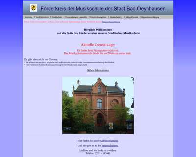 Screenshot (small) http://www.ms-badoeynhausen.de