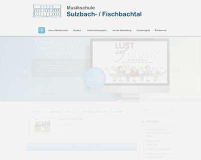 Screenshot (small) http://www.musikschule-sulzbach-fischbachtal.de