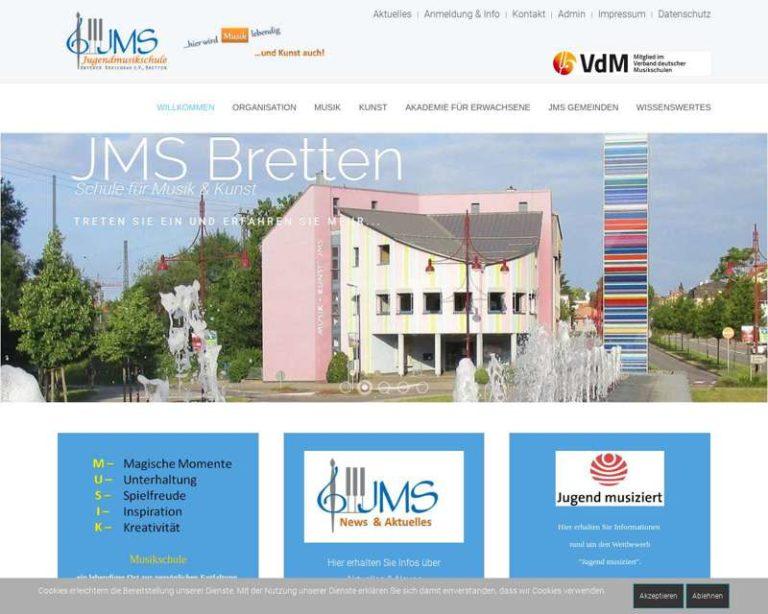 Screenshot (middle) http://www.jmsbretten.de