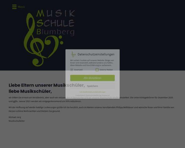 Screenshot (middle) http://www.musikschuleblumberg.de