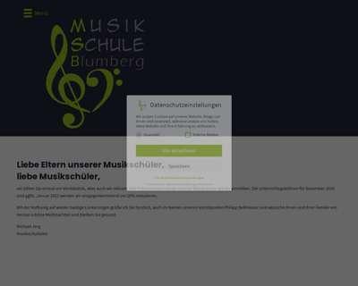 Screenshot (small) http://www.musikschuleblumberg.de
