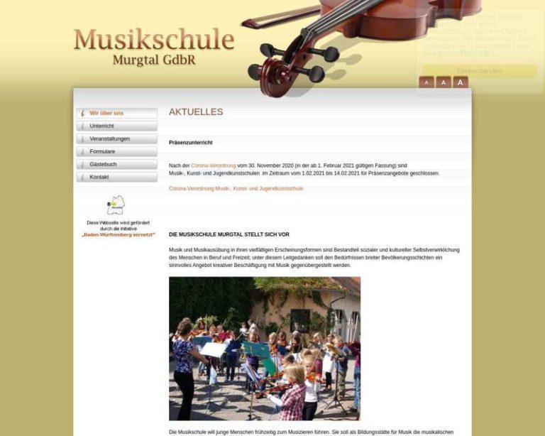 Screenshot (middle) http://www.musikschule-murgtal.de/