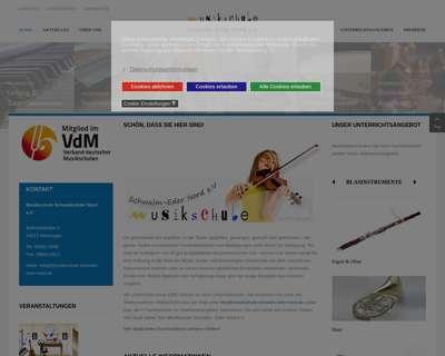 Screenshot (small) http://www.musikschule-schwalm-eder-nord.de