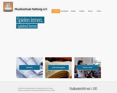 Screenshot (small) http://www.musikschulekettwig.de/