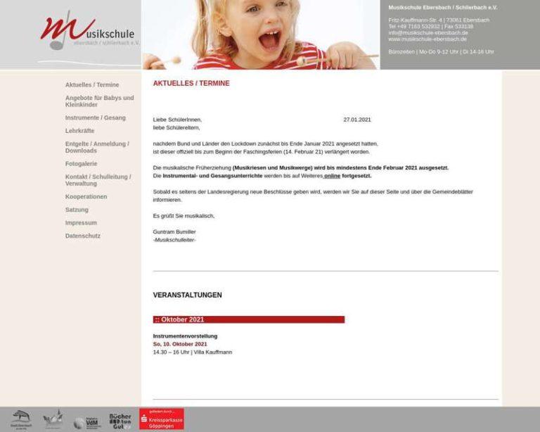 Screenshot (middle) http://www.musikschule-ebersbach.de