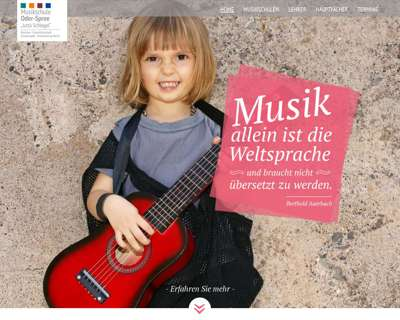 Screenshot (small) http://www.musikschule-los.de