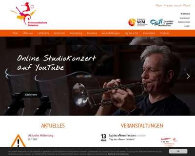 Screenshot (small) http://www.musikschule-ohz.de