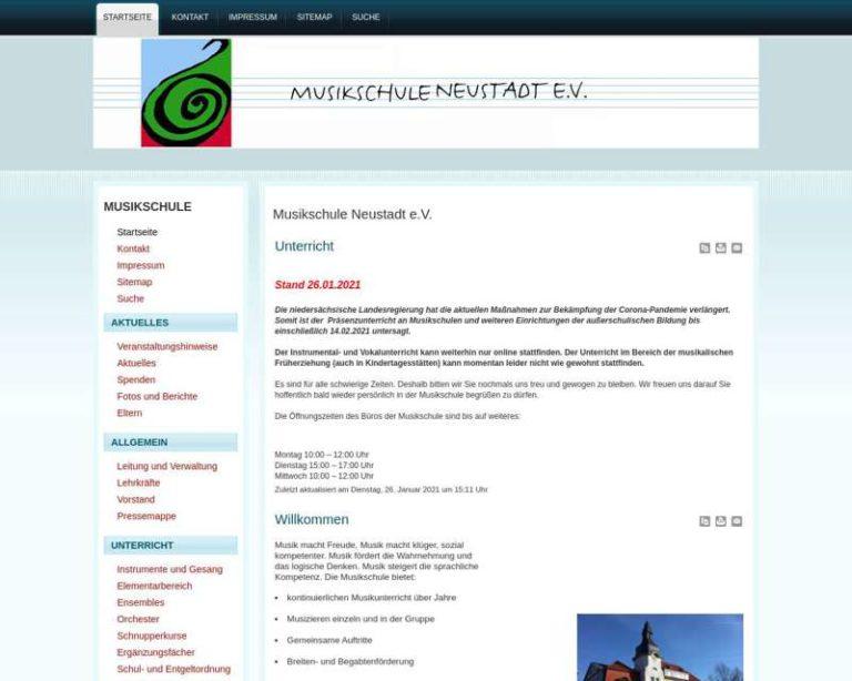 Screenshot (middle) http://www.msneustadt.de