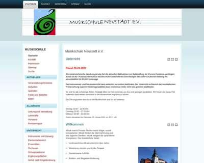 Screenshot (small) http://www.msneustadt.de