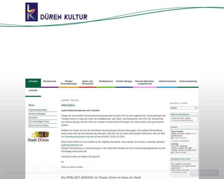 Screenshot (middle) http://www.musikschule.dueren-kultur.de