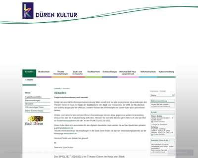 Screenshot (small) http://www.musikschule.dueren-kultur.de