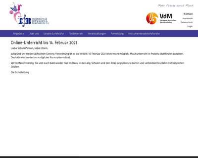 Screenshot (small) http://www.musikschule-isernhagen-burgwedel.de