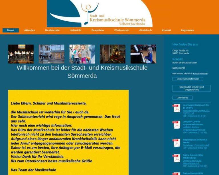 Screenshot (middle) http://www.musikschule-soemmerda.de