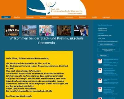 Screenshot (small) http://www.musikschule-soemmerda.de