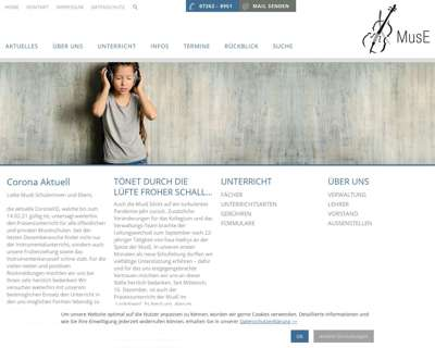 Screenshot (small) http://www.musikschule-eppingen.de