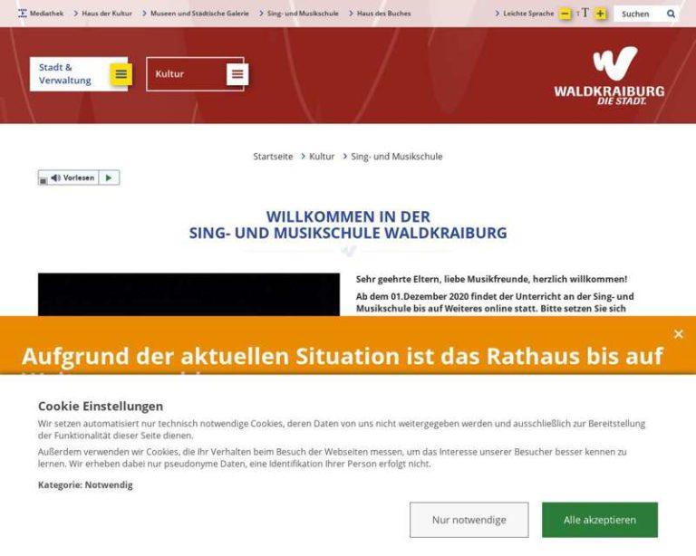 Screenshot (middle) http://www.musikschule-waldkraiburg.de