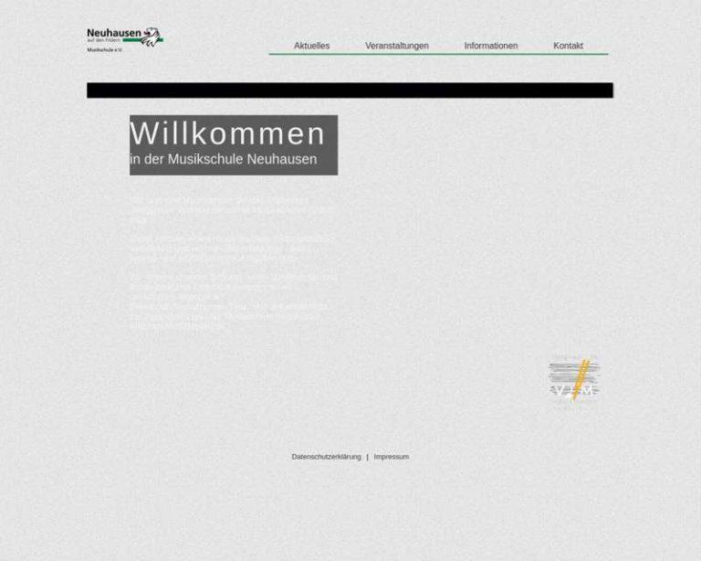 Screenshot (middle) http://www.musikschule-neuhausen.de