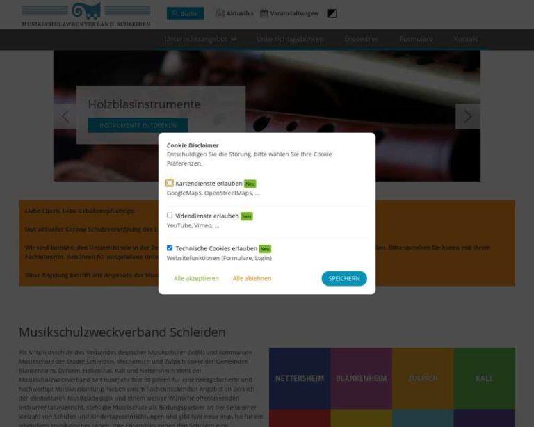 Screenshot (middle) http://www.musikschule-schleiden.de