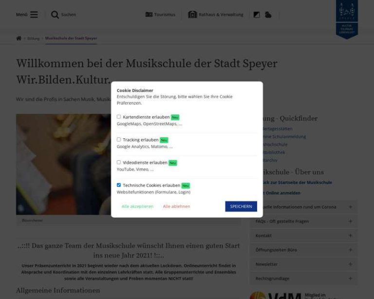 Screenshot (middle) http://www.musikschule.speyer.de