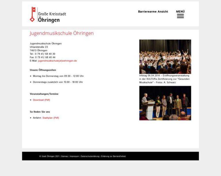 Screenshot (middle) http://www.jugendmusikschule-oehringen.de