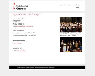Screenshot (small) http://www.jugendmusikschule-oehringen.de