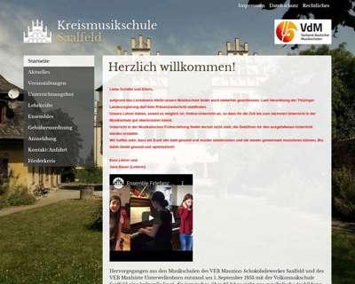 Screenshot (small) http://www.musikschule-saalfeld.de