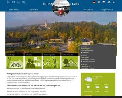Screenshot (small) http://www.johanngeorgenstadt.de