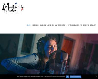 Screenshot (small) http://www.musikschulelamusica.de