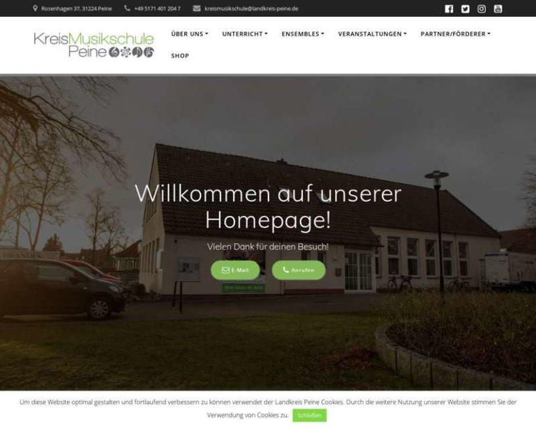Screenshot (middle) http://www.kreismusikschule-peine.de