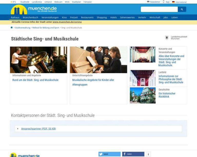 Screenshot (middle) http://www.muenchen.de/musikschule