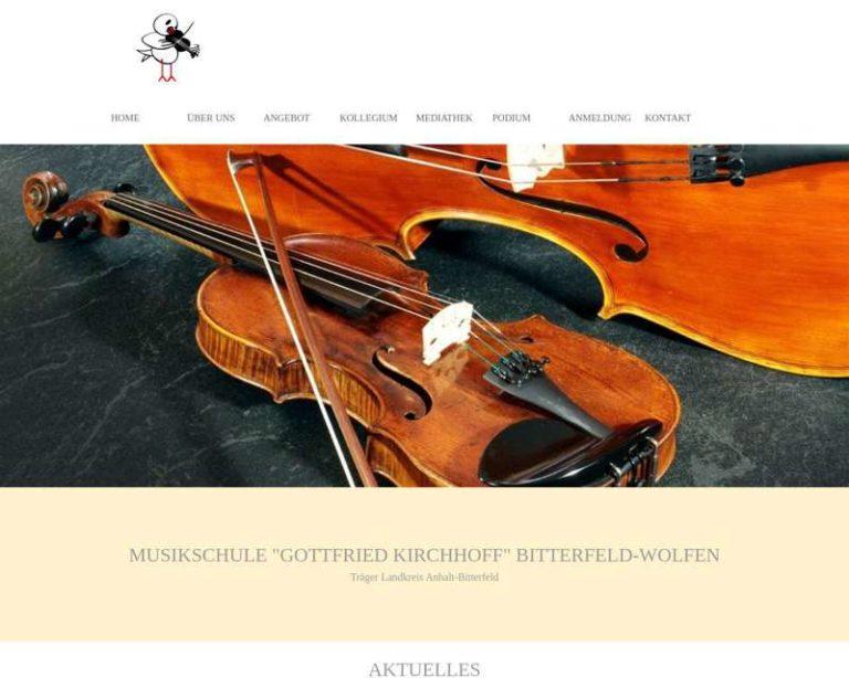Screenshot (middle) http://www.musikschule-bitterfeld.de
