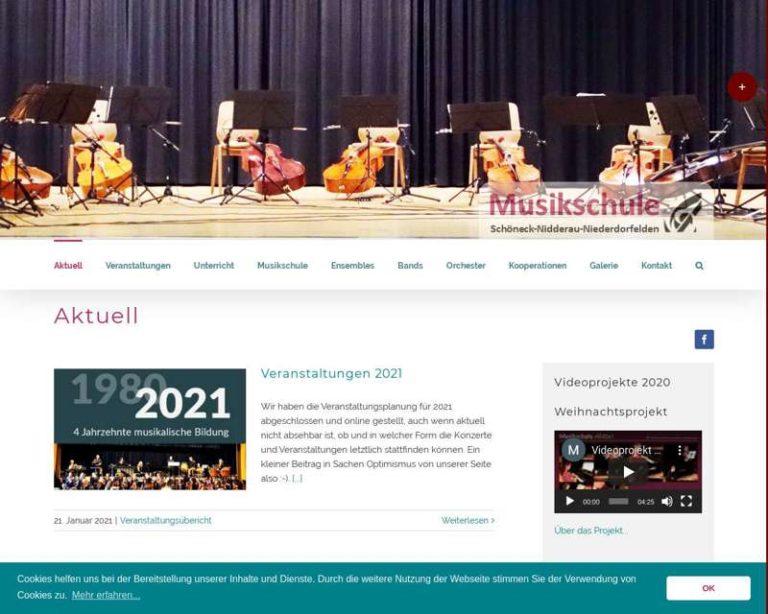 Screenshot (middle) http://www.musikschule.online