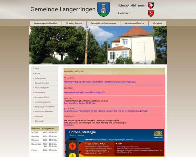 Screenshot (middle) http://www.langerringen.de
