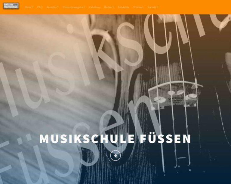 Screenshot (middle) http://www.musikschule-fuessen.de