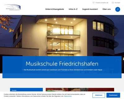 Screenshot (small) http://www.musikschule.friedrichshafen.de