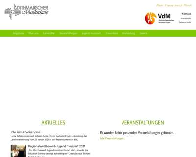 Screenshot (small) https://www.dithmarscher-musikschule.de