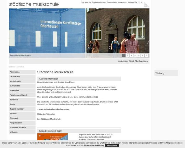 Screenshot (middle) http://www.oberhausen.de/musikschule