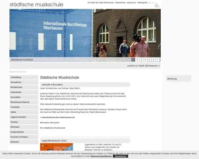 Screenshot (small) http://www.oberhausen.de/musikschule