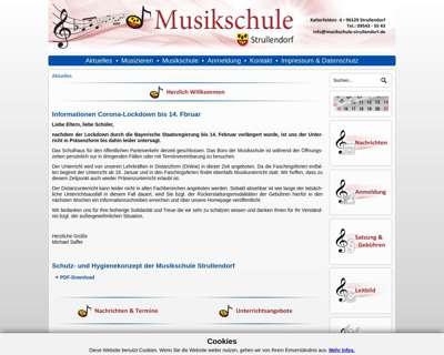 Screenshot (small) http://www.musikschule-strullendorf.de