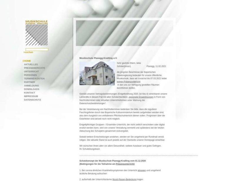 Screenshot (middle) http://www.musikschule-planegg-krailling.de