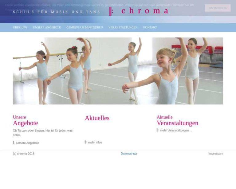 Screenshot (middle) http://www.chroma-online.de