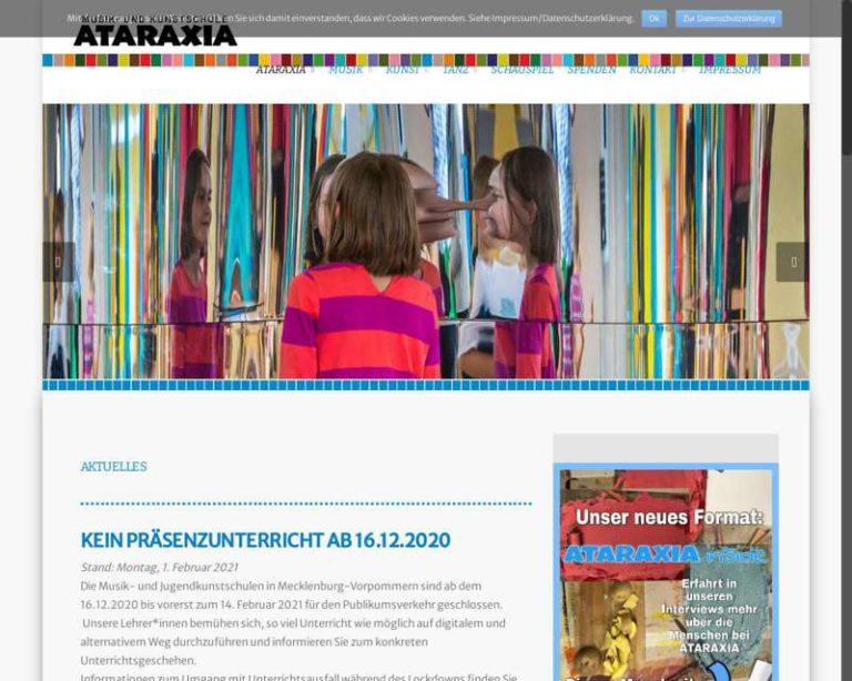 Screenshot (middle) http://www.ataraxia-schwerin.com